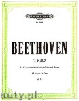 Okładka: Beethoven Ludwig van, Trio in B flat Op.11 (Cl/Vln—Vc— Pf)