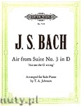 Okładka: Bach Johann Sebastian, 'Air on the G String' (Org/Pf)