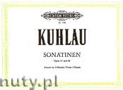 Okładka: Kuhlau Friedrich Daniel Rudolf, 6 Sonatinas Op. 44, 66