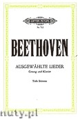 Ok�adka: Beethoven Ludwig van, Selected Song for Voice and Piano