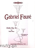 Ok�adka: Faur� Gabriel, Dolly for Piano 4 hands, Op. 56
