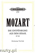 Ok�adka: Mozart Wolfgang Amadeus, The Abduction from the Seraglio, Singspiel in three Acts