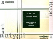 Ok�adka: H�ndel George Friedrich, Zadok the Priest for Piano Duet