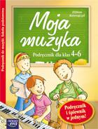 Okładka: Korowajczyk Elżbieta, Moja muzyka 4-6 podręcznik