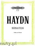 Okładka: Haydn Franz Joseph, 8 Sonatas for Violin and Piano