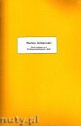 Okładka: Janiszewski Wacław, Pieśni religijne, z.1 (partytura + głosy) na orkiestrę dętą mieszaną
