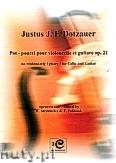 Okładka: Dotzauer Justus Johann Friedrich, Potpourri pour violoncelle et guitare op. 21
