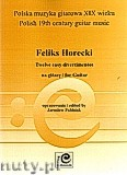 Okładka: Horecki Feliks, Twelve Easy Divertimentos