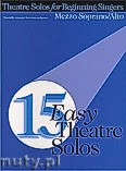 Ok�adka: R�ni, 15 Easy Theatre Solos for Mezzo Soprano or Alto
