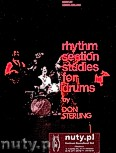 Okładka: Sterling Don, Rhythm Section Studies For Drums
