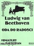 Okładka: Beethoven Ludwig van, Oda do radości na fortepian