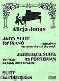 Okładka: Jonas Alicja, Jazzująca suita na fortepian. Refleksje na każdy dzień tygodnia