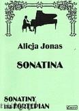 Okładka: Jonas Alicja, Sonatina fortepianowa