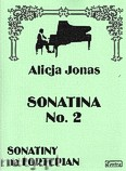 Okładka: Jonas Alicja, Sonatina nr 2 na fortepian
