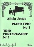 Okładka: Jonas Alicja, Trio fortepianowe nr 1