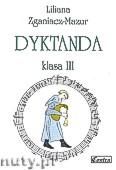 Okładka: Zganiacz-Mazur Liliana, Dyktanda, klasa 3