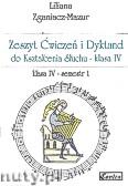 Okładka: Zganiacz-Mazur Liliana, Zeszyt Ćwiczeń i Dyktand do kształcenia słuchu, klasa IV-semestr 1 i 2 (komplet)