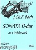 Ok�adka: Bach Johann Christian, Sonata D-dur na 2 wiolonczele