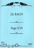 Okładka: Bach Johann Sebastian, Fuga XVI na sekstet perkusyjny