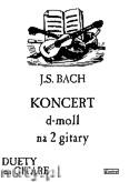 Okładka: Bach Johann Sebastian, Koncert d-moll na 2 gitary i fortepian
