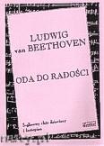 Okładka: Beethoven Ludwig van, Oda do radości na 3 - głosowy chór dziecięcy i fortepian