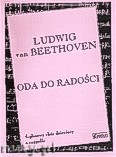 Okładka: Beethoven Ludwig van, Oda do radości na 4 - głosowy chór dziecięcy a cappella
