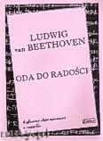 Ok�adka: Beethoven Ludwig van, Oda do rado�ci 4 - g�osowy ch�r mieszany a cappella