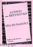 Okładka: Beethoven Ludwig van, Oda do radości na 2 - głosowy chór dziecięcy i fortepian