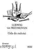 Okładka: Beethoven Ludwig van, Oda do radości na kwartet smyczkowy