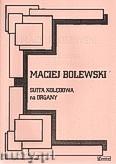 Okładka: Bolewski Maciej, Suita kolędowa na organy