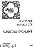 Okładka: Donizetti Gaetano, Cavatina i Romans