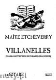 Okładka: Etcheverry Maite, Villanelles na gitarę (renesansowe pieśni bretońskie i irlandzkie)