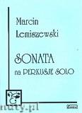 Okładka: Lemiszewski Marcin, Sonata na perkusję solo