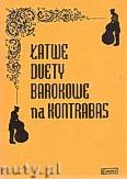 Okładka: Różni, Łatwe duety barokowe na 2 kontrabasy