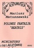Okładka: Matuszewski Mariusz, Polonez fantazja