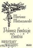 Ok�adka: Matuszewski Mariusz, Polonez fantazja