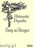 Okładka: Pogorilec Aleksander, Duety na skrzypce