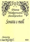 Okładka: Sienkiewicz Diana Małgorzata, Sonata c-moll na flet i fortepian