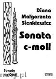 Ok�adka: Sienkiewicz Diana Ma�gorzata, Sonata c-moll na ob�j i fortepian