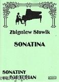Okładka: Słowik Zbigniew, Sonatina na fortepian