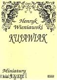 Okładka: Wieniawski Henryk, Kujawiak na flet i fortepian