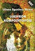 Ok�adka: Zganiacz-Mazur Liliana, Leksykon kompozytor�w