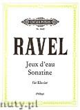 Okładka: Ravel Maurice, Jeux d'eau, Sonatine für Klavier