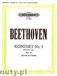 Okładka: Beethoven Ludwig van, Concerto No. 4 in G Op. 58 for 2 Pianos
