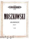 Ok�adka: Moszkowski Maurycy, 3 Arabesken op. 61 f�r Klavier
