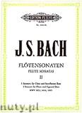 Ok�adka: Bach Johann Sebastian, Flute Sonatas, Vol.2