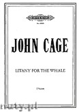 Okładka: Cage John, Litany for the Whale (Vocalise for 2 Voices)