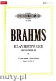 Okładka: Brahms Johannes, Klavierwerke, Band 2 - Variationen op. 9, 21, 24, 35