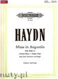 Okładka: Haydn Franz Joseph, Missa in Angustiis