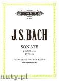 Okładka: Bach Johann Sebastian, Sonata G minor BWV 1030b for Oboe (Flute), Clavecin and Viola da Gamba (Ad lib.)